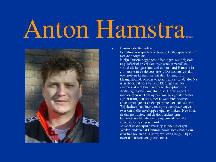 Anton Hamstra
