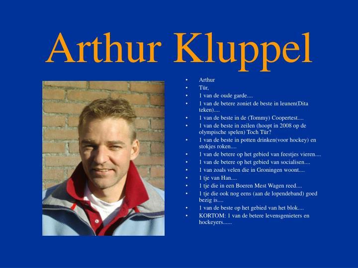 Arthur kluppel