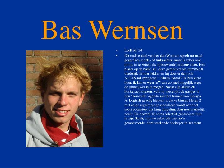 Bas Wernsen