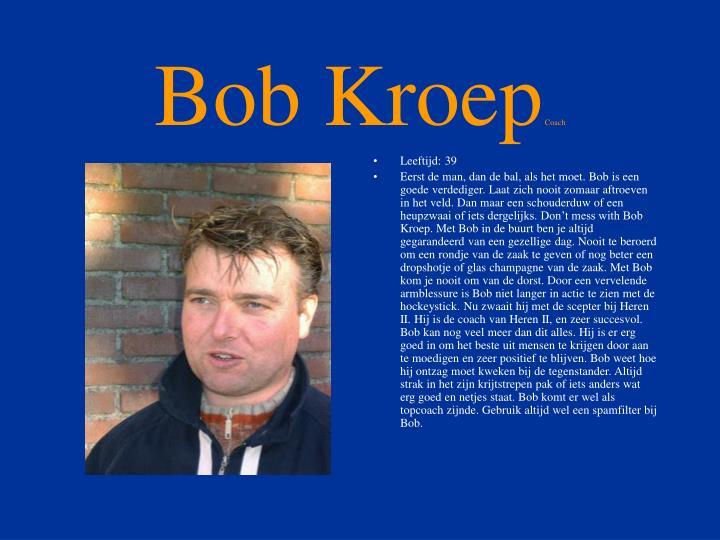 Bob Kroep