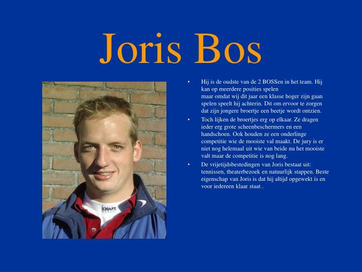 Joris Bos