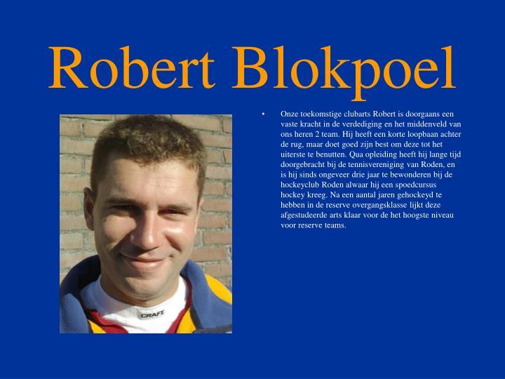 Robert Blokpoel