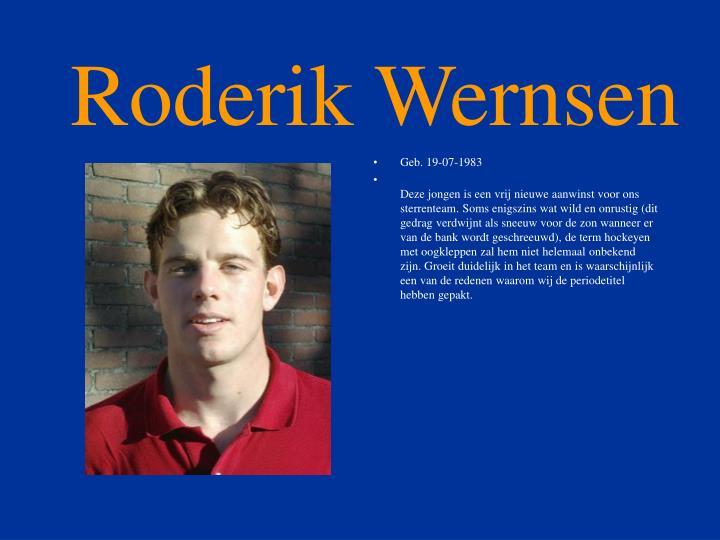 Roderik Wernsen