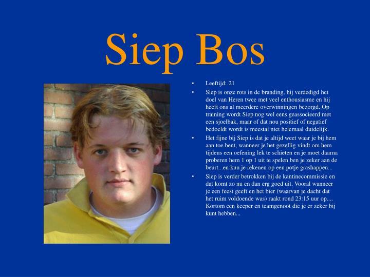 Siep Bos