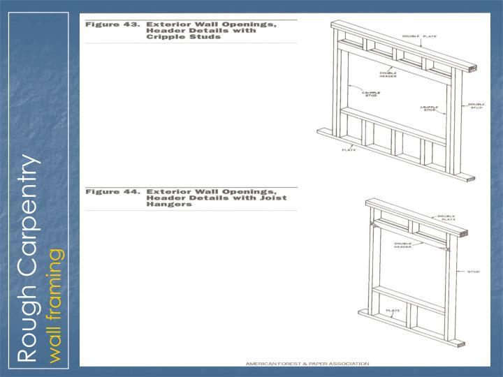 Rough Carpentry
