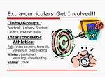 extra curriculars get involved