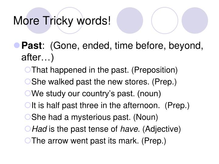 More Tricky words!