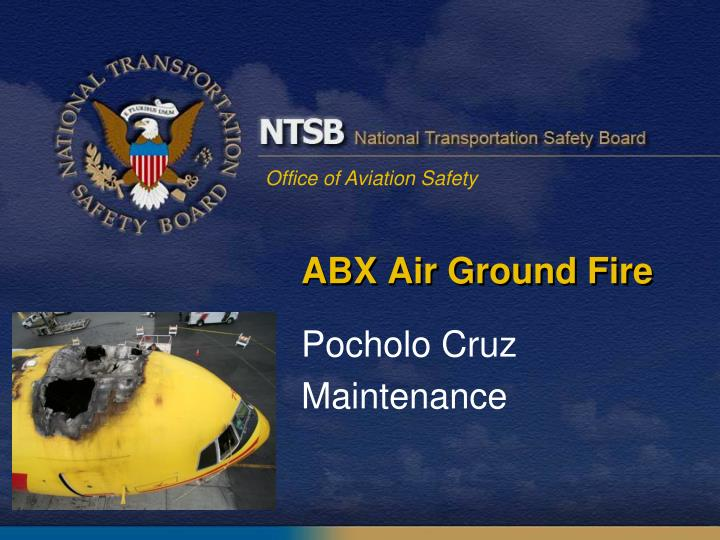 abx air ground fire