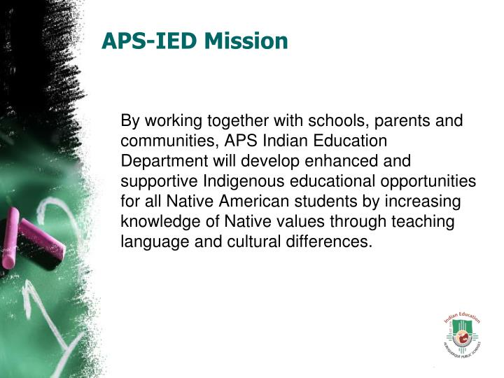 Aps ied mission