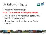 limitation on equity2
