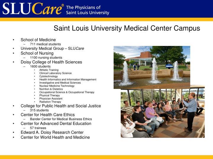 Saint louis university medical center campus