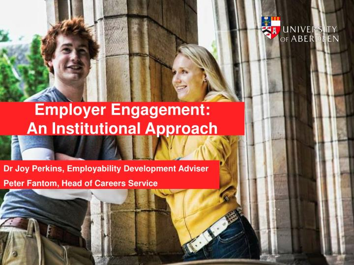 employer engagement an institutional approach n.