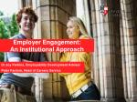 employer engagement an institutional approach