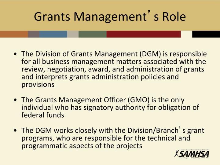 Grants Management