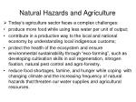 natural hazards and agriculture3