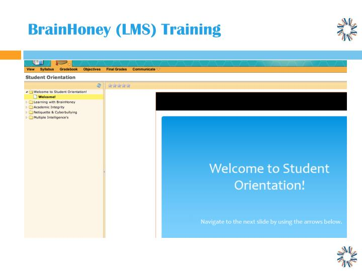 BrainHoney (LMS) Training
