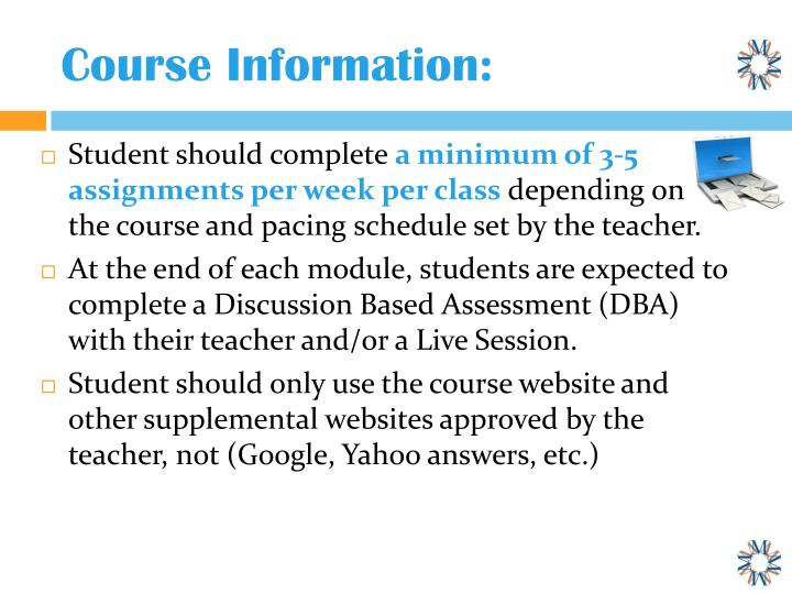 Course Information: