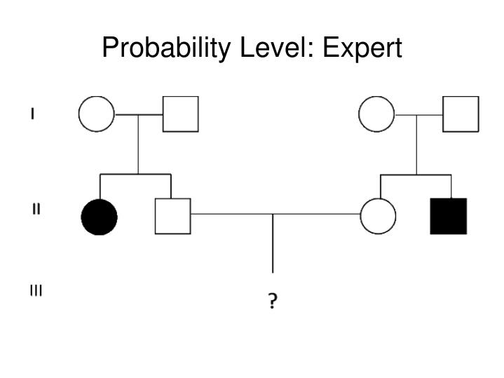 Probability Level: Expert