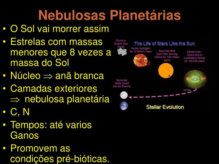 Nebulosas Planetárias