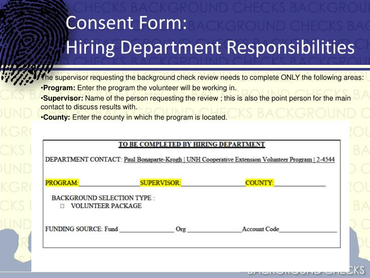Consent Form: