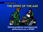 the spirit of the aar
