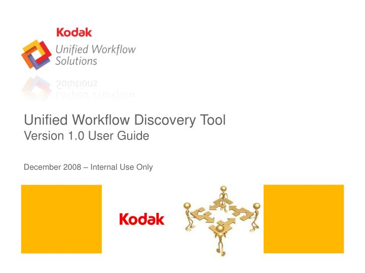 Unified Workflow Discovery Tool
