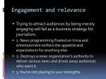engagement and relevance6