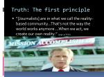 truth the first principle1