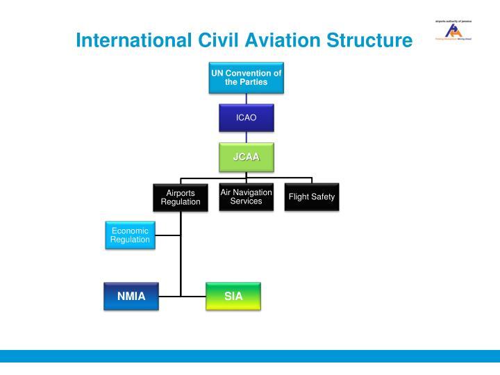 International civil aviation structure