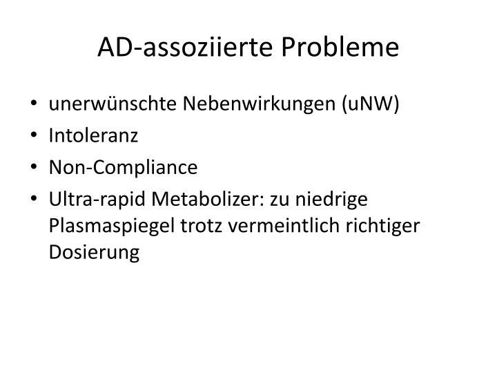 AD-assoziierte Probleme