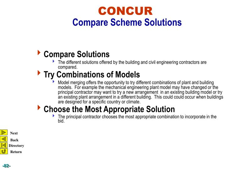 Compare Solutions
