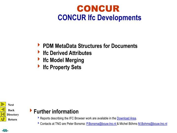 PDM MetaData Structures for Documents