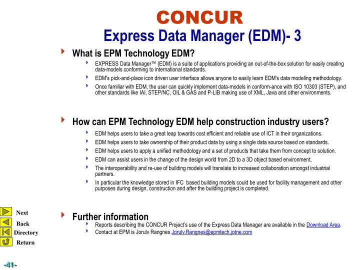 What is EPM Technology EDM?
