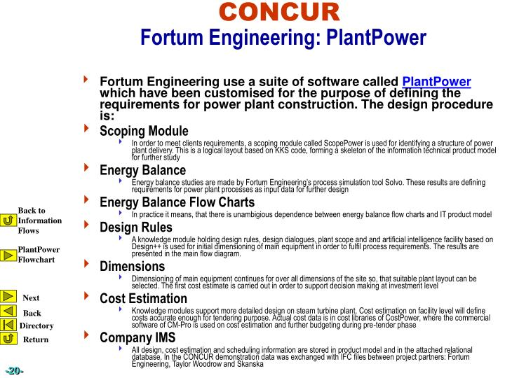 Fortum Engineering use a suite of software called