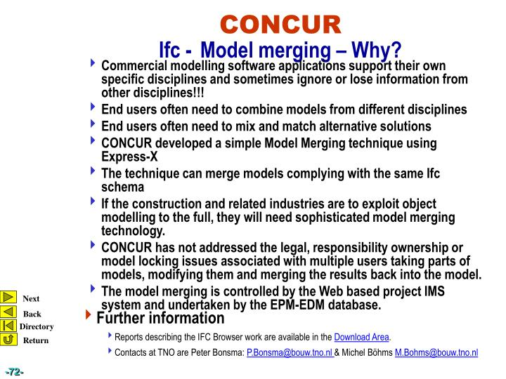 Commercial modelling software applications support their own specific disciplines and sometimes ignore or lose information from other disciplines!!!
