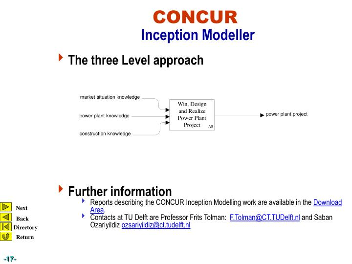 The three Level approach