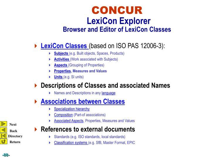 LexiCon Classes