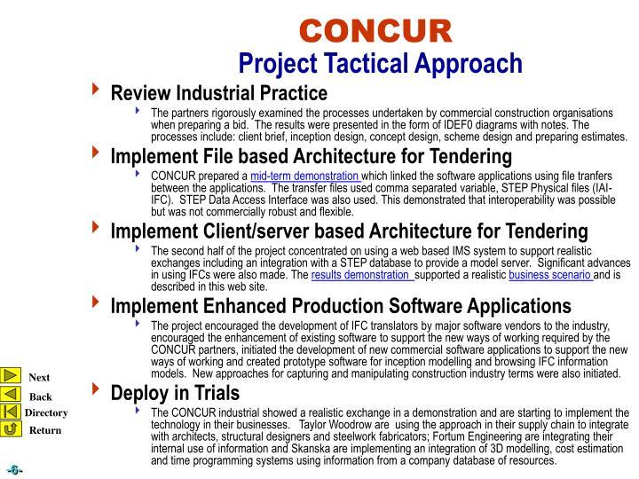 Review Industrial Practice