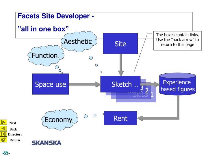 Facets Site Developer -