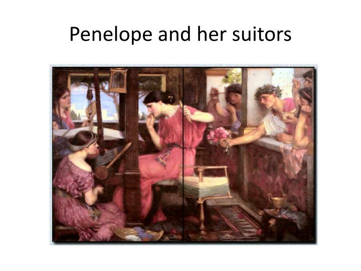 Penelope and her suitors