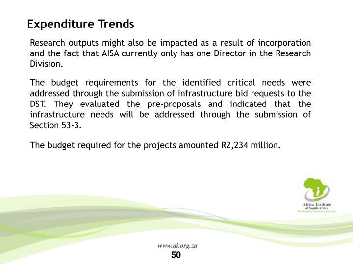 Expenditure Trends