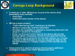 canoga loop background