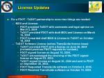 license updates1