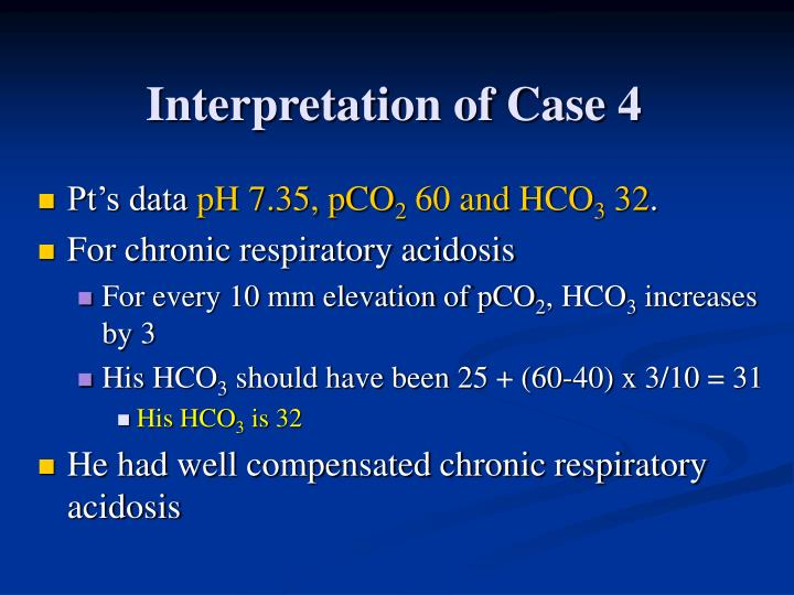 Interpretation of Case 4