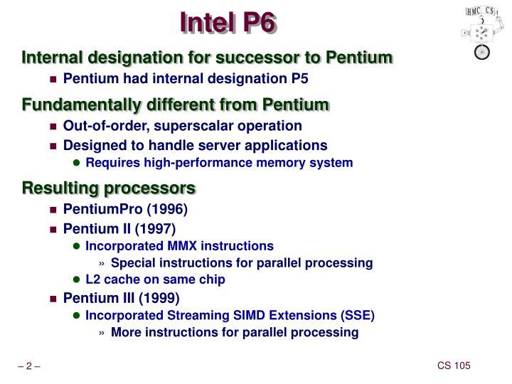Intel p6