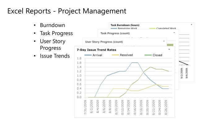 Excel Reports - Project Management