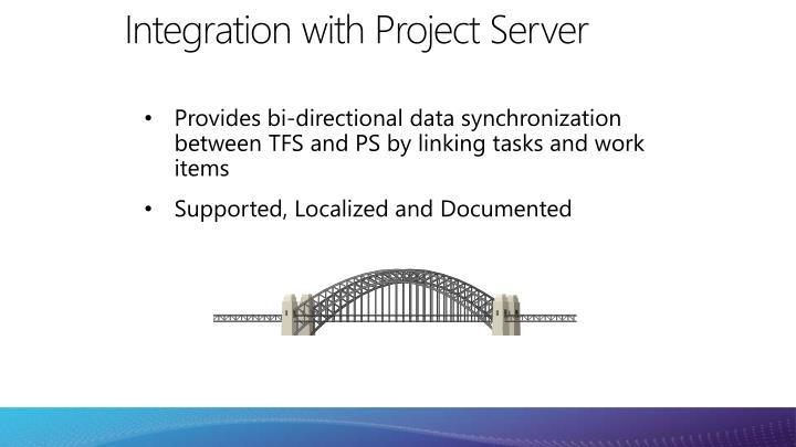 Integration with Project Server
