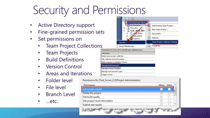 Security and Permissions