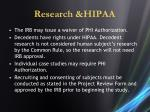 research hipaa1