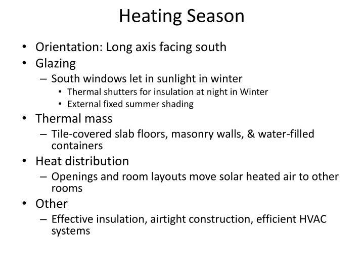 Heating Season